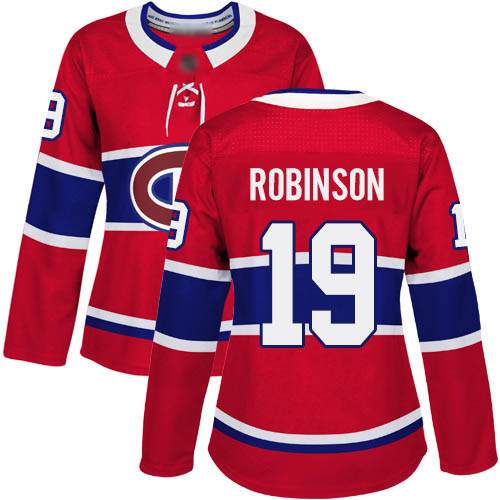 Adidas Women's Larry Robinson Premier Red Home Jersey: NHL #19 Montreal Canadiens