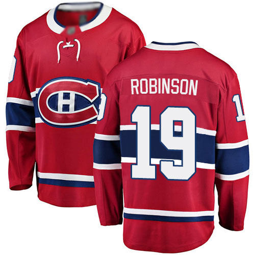 Fanatics Branded Youth Larry Robinson Breakaway Red Home Jersey: NHL #19 Montreal Canadiens
