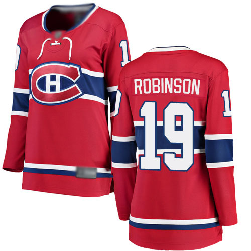 Fanatics Branded Women's Larry Robinson Breakaway Red Home Jersey: NHL #19 Montreal Canadiens