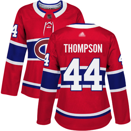 Adidas Men's Tomas Plekanec Authentic Red Jersey: NHL #14 Montreal Canadiens USA Flag Fashion