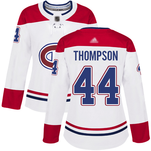 Adidas Women's Tomas Plekanec Authentic Red Jersey: NHL #14 Montreal Canadiens USA Flag Fashion