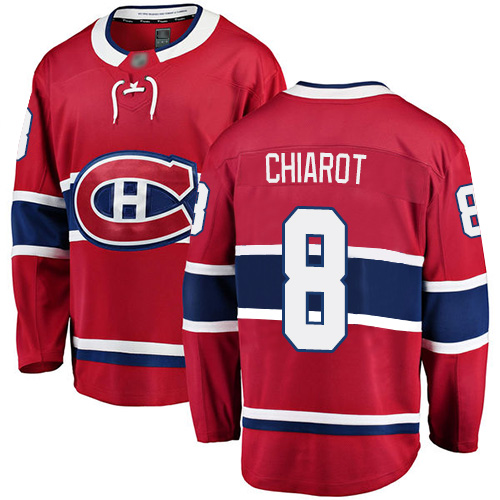 Adidas Men's Andrew Shaw Authentic Red Home Jersey: NHL #65 Montreal Canadiens