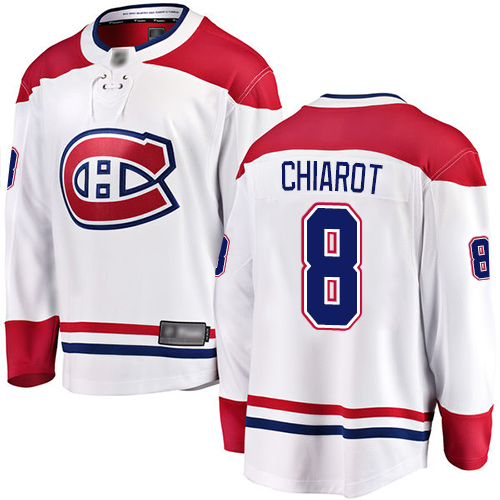 Adidas Men's Andrew Shaw Premier Red Home Jersey: NHL #65 Montreal Canadiens