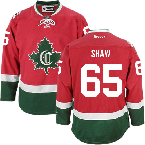 Reebok Men's Andrew Shaw Authentic Red Third Jersey: NHL #65 Montreal Canadiens New CD