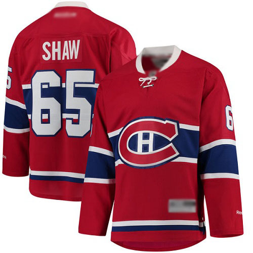 Fanatics Branded Men's Andrew Shaw Breakaway Red Home Jersey: NHL #65 Montreal Canadiens