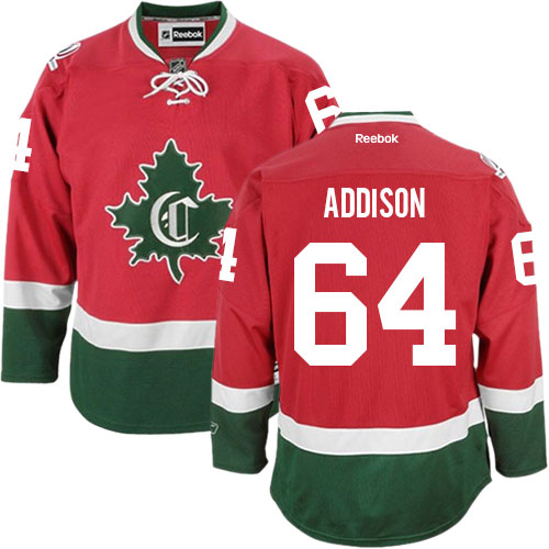 Reebok Women's Jeremiah Addison Authentic Red Third Jersey: NHL #64 Montreal Canadiens New CD