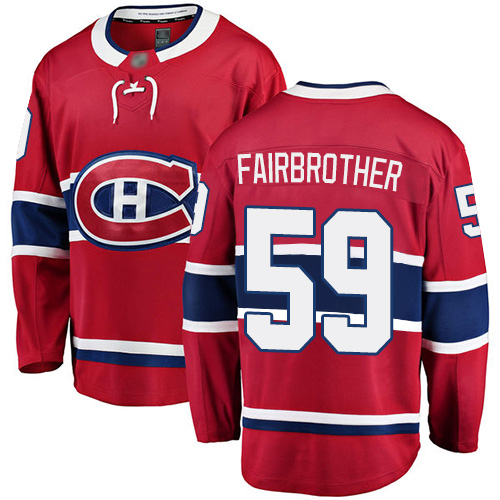 Adidas Youth Jeremiah Addison Authentic White Jersey: NHL #64 Montreal Canadiens 2017 100 Classic