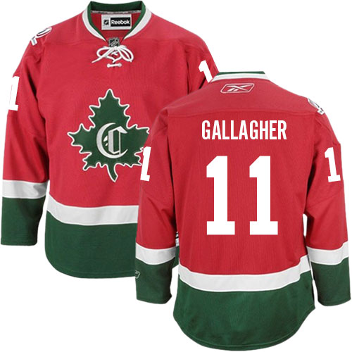 Reebok Men's Brendan Gallagher Authentic Red Third Jersey: NHL #11 Montreal Canadiens New CD