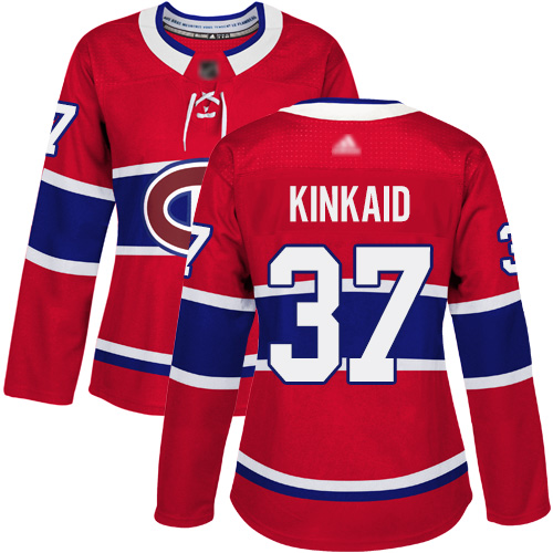 Adidas Men's David Schlemko Authentic Red Jersey: NHL #21 Montreal Canadiens USA Flag Fashion
